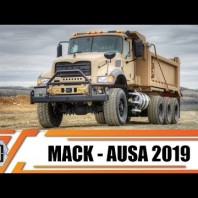 Mack Defense AUSA 2019 teaser heavy trucks for military forces including US Army M917A3 HDT