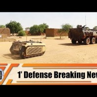 Estonian army deploys Milrem Robotics THeMIS UGV for first time in Mali 1′ Defense Breaking News