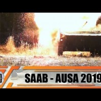 AUSA 2019 SAAB Carl-Gustaf M4 technical review man portable multi role weapon system rocket launcher