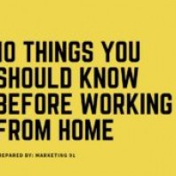 Working From Home -10 Things To Consider Before Taking a Decision