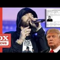 Eminem's Secret Service Docs For Dissing Trump Are Live