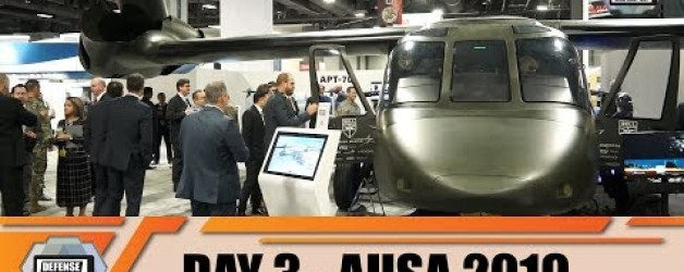 AUSA 2019 News Show Daily Association of United States Army Defense Exhibition Washington DC Day 3