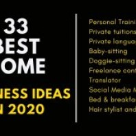 Best Home Business Ideas in 2020 – Top 33 Home Business Ideas