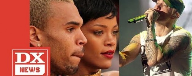 Eminem Raps About Taking Chris Brown's Side After He Beat Up Rihanna In New Leaked Snippet