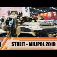 Streit Group presents anti-riot internal security & SWAT team vehicles at Milipol Paris 2019 France