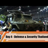 Defense and Security Thailand 2019 Tri Service Asian Exhibition Bangkok Show Daily News Video Day 4