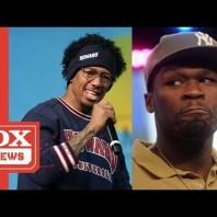 """50 Cent Warns Nick Cannon Over Eminem Diss  """"I Oughta Kick You In Your A**"""""""