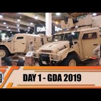 GDA 2019 Day 1 Gulf Defense – Aerospace – Homeland Security International Exhibition Kuwait