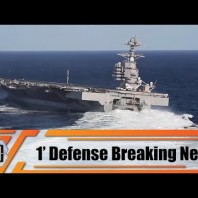 US Navy USS John F Kennedy British Navy HMS Prince of Wales aircraft carrier christened in December