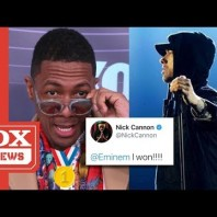 Nick Cannon Declares Victory In Eminem Battle