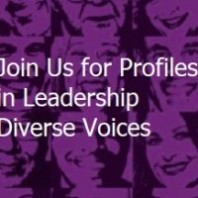 Join Us for Profiles in Leadership Diverse Voices