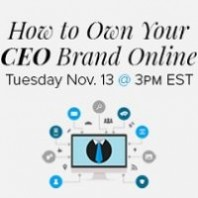 How to Own Your CEO Brand Webinar