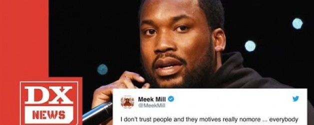"""Meek Mill Plans To Expose Major Companies Offering """"Slave"""" Deals"""
