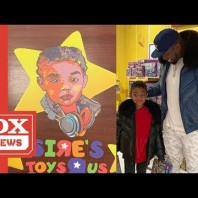 50 Cent Actually Gets His Son His Own Toys 'R' Us Store For Christmas
