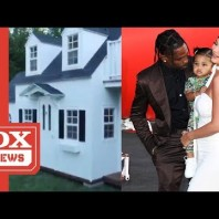 Travis Scott & Kylie Jenner's Daughter Stormi Gets A Life Sized Playhouse For Christmas