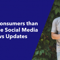 More Consumers than Ever Use Social Media for News Updates
