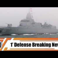 Navy of China has commissioned its first Type 55 missile destroyer 101 Nanchang