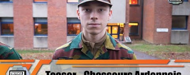 Teaser La vie des recrues au sein du 1° Bataillon des Chasseurs Ardennais de l'armée Belge Web série