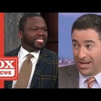 Ari Melber Quotes 'Vintage 50 Cent' While Comparing Him To Donald Trump & 50 Reacts