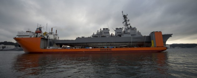 USS Fitzgerald Returns to Sea after Two Years