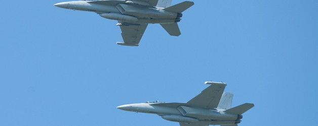 Boeing and U.S. Navy Link Manned&Unmanned EA-18G Growlers Successfully