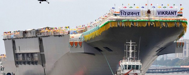 Structural and outfitting work of INS Vikrant complete