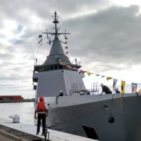Argentinian Navy's new OPV ARA Bouchard finally arrives homeport