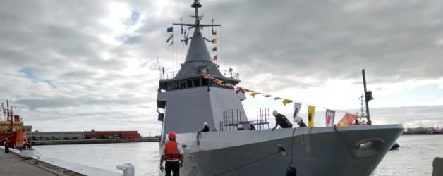 Argentinian Navy's new OPV ARA Bouchard finally arrives homeport