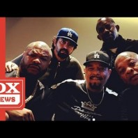 Dr.Dre, Ice T, Xzibit & FredWreck Post Up In The Studio