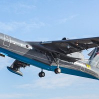 Russian Navy Be-200ES Amphibious Aircraft Performs Its Maiden Flight