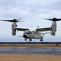 Bell Boeing delivers first CMV-22B Osprey to the U.S. Navy