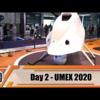 UMEX 2020 International Unmanned Defense Systems  and Training Exhibition Abu Dhabi UAE Day 2