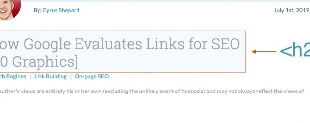 Are H1 Tags Necessary for Ranking? [SEO Experiment]