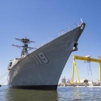Future USS Delbert D. Black (DDG-119) Passes  Builders Trials