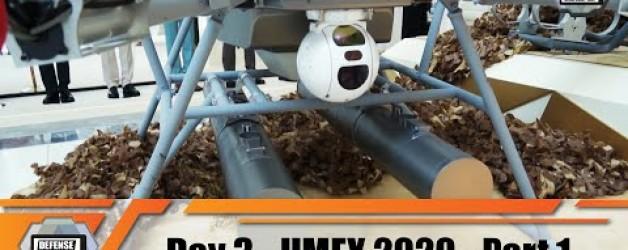 UMEX 2020 International Unmanned Defense Systems  and Training Exhibition Abu Dhabi UAE Day 3