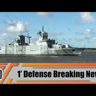 German Navy takes delivery of F125 Baden-Württemberg-class frigate NORDRHEIN-WESTFALEN