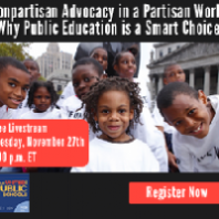 Nonpartisan Advocacy in a Partisan World: Why Public Education is a Smart Choice