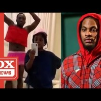 """Waka Flocka Bashes """"Flip The Switch"""" Challenge And Says He Will """"Never Dress Like A Female"""""""