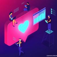 Do we need to kiss goodbye to social media likes? Exploring visibility and health