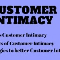 What is Customer Intimacy?