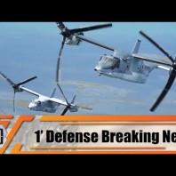V-22 Osprey tiltrotor aircraft for Japan Ground Self-Defense Force arrive in Japan 1′ defense  news