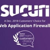 Sucuri Named December 2018 Gartner Customers' Choice for Web Application Firewalls