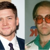 Here's the first official look at Taron Egerton as Elton John in the 'Rocketman' biopic