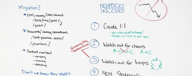 Redirects: One Way to Make or Break Your Site Migration – Whiteboard Friday