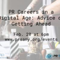 PR Careers in a Digital Age: Advice on Getting Ahead