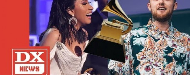 Cardi B Dedicates History-Making Grammy To The Late Mac Miller