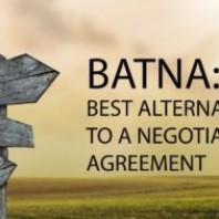 What is BATNA? Best Alternative To a Negotiated Agreement